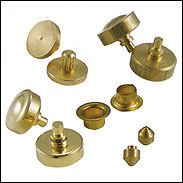 Brass Cnc Machined Turned Parts Components